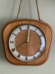 antique mauthe wall clock - Midcentury Modern Vibes