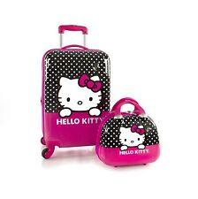 "Hello Kitty Unisex Spinner Luggage & Beauty Case - 21"""