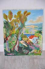 Tableau / Reproduction - Henri Manguin - La rade de Villefranche - Painting