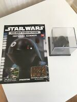 1/5 SCALE STAR WARS DEAGOSTINI HELMET COLLECTION ISSUE 12 IMPERIAL GUNNER + MAG