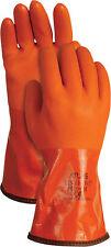 Atlas  Unisex  Indoor/Outdoor  PVC  Coated  Work Gloves  Orange  L