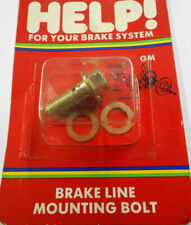 Dorman Help 13940 Brake Line Mounting Banjo Bolt Steel Zinc 10mm x 1.5