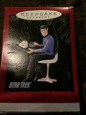Star Trek Mr Spock Hallmark Keepsake Ornament 1996