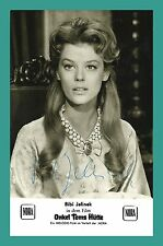 JELINEK BIBI | Schauspielerin | Original-Autogramm auf Autogrammkarte