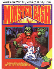 Monster Bash 1993 PC Linux Game APOGEE