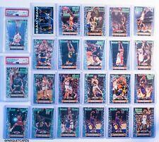 1992 Stadium Club Beam Team Michael Jordan Shaquille O'Neal PSA 8 w/ Whole set!!