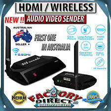 NEW! 5.8GHz HDMI WIRELESS AV Sender TV Wireless AUDIO VIDEO Transmitter Receiver