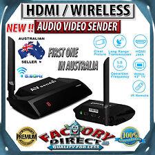 FOXTEL AUSTAR Approved 5.8GHz HDMI WIRELESS Video Sender TV Wireless Transmitter