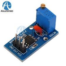 Ne555 Adjustable Frequency Pulse Generator Module For Arduino Smart Car 5-12V