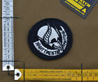 """Ricamata / Embroidered Patch """"Night Time"""" with VELCRO® brand hook"""