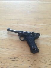 NO.1 ACTION MAN BLACK LUGER GUN