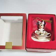 LENOX - Walt Disney A RIDE WITH MINNIE in TeaCup  Ornament NEW in Box (1ZIC)