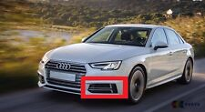 AUDI GENUINE A4 16-18 S-LINE FRONT BUMPER LOWER LEFT N/S AIR GUIDE GRILL CHROME
