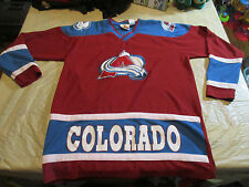 NHL Colorado Avalanche YOUTH/BOYS .SZ.XLarge EMBROIDERED JERSEY OFFICIAL PRODUCT