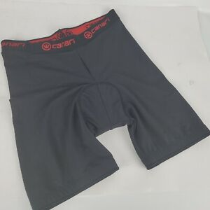 Canari Mens Padded Cycling Bike Shorts - Black -Size Large