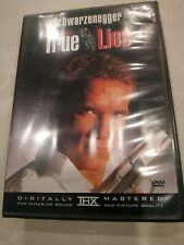 True Lies (Widescreen Edition DVD) Jame Cameron Schwarzenegger pre-owned