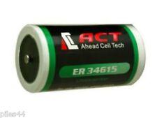 1 Pile Lithium 3.6V D ER34615 19000Mah 19A 9AH LS33600C LSH20 TL-4930 XL-200F