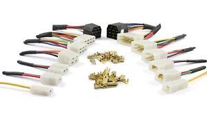 Cable / Wire Multi Plug Block Connectors 1 2 3 4 6 8 11 Way with crimp terminals