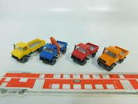 BO475-0,5# 4x Wiking H0/1:87 Mercedes-Benz/MB Unimog, NEUW