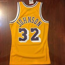 NEW MITCHELL   NESS NBA LAKERS MAGIC JOHNSON JERSEY SWINGMAN MEN SIZE SMALL  S c35b3eda4