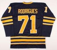 Evan Rodrigues signed Buffalo Sabres hockey jersey (Beckett COA)