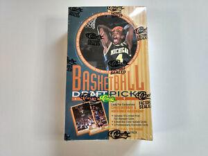 1993 Classic Draft Picks Basketball Cards Full Sealed Box x36 packs UK