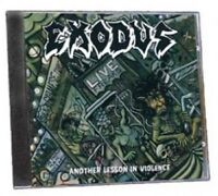 EXODUS - ANOTHER LESSON IN VIOLENCE  CD HEAVY METAL HARD ROCK NEW+