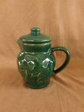 Rowe Pottery Cambridge Forest Green SYRUP PITCHER or CREAMER, have more items