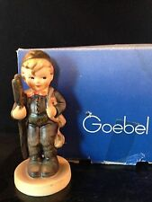 "VintageGOEBEL M.I. HUMMEL ""CHIMNEY SWEEP"" #975 Hum 12/2/0 TMK-5  with box"