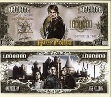 Harry Potter - Warner Bros. Movie Million Dollar Novelty Money