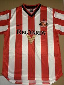 Sunderland 2001 Football Home Shirt - Size Medium
