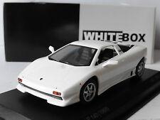 LAMBORGHINI P140 1988 WHITE WHITEBOX WB505 1/43 WEISS BIANCA BLANCHE ITALIA