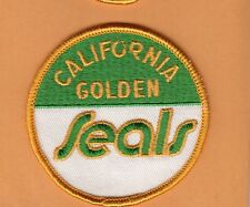 VINTAGE CALIFORNIA GOLDEN SEALS OLD LOGO 3 inch PATCH UNSOLD STOCK