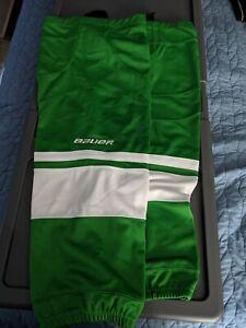 Bauer Hockey Socks Green L-XL