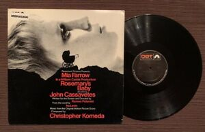 Rosemary's Baby Music from the Score Horror LP 1968 Mono Promo RARE EX
