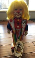 """The Center Ring Collection Janis """"Mayor Clancey"""" Roberts 15"""" Clown"""