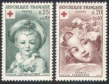 France 1962 Red Cross/Medical/Welfare/Children/Health 2v set (n29910)