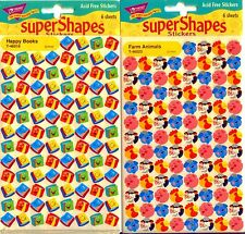 Love to Learn superShapes & superSpots Stickers by Trend Ent. 2500 stickers