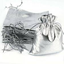 400pcs Luxury Organza Sweet Candy Gift Bags Wedding Party Favour Jewelry Pouches