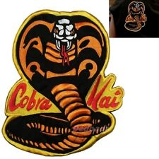 Karate Kid Replica Cobra Kai Suit Logo Embroidered Big Patch for Back Costume