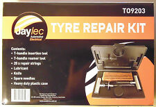 Jaylec Tyre Repair Kit for Nissan Toyota Mitsubishi Holden Jeep 4WD AWD Off-Road