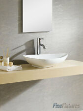 Fine Fixtures 26X18 Triangular Bathroom Vessel Sink-Vitreous China -MV2618TW
