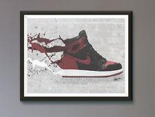 Air Jordan/ Nike / Trainer / Sneaker Wall Art Print / Poster  A3, A2, A1, A0