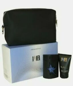 A*Thierry Mugler Gift Set 50ml Perfume for men With Travel Bag Brand New