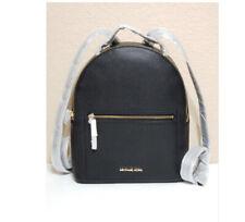 Michael Kors Jessa MD Convertible Backpack Black Leather 38H9CEVB8L