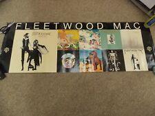 Original Fleetwood Mac Record Promotional Poster 1977 Amazing!