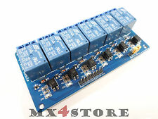 12v DC 230v AC Relay relè Modulo 6 canale Channel con optokoppler 313