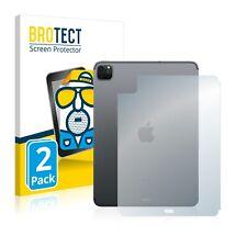 "2x Display Schutz Folie für Apple iPad Pro WiFi 11"" 2020 (Rückseite) Matt"