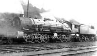 Erie Railroad photo GIant Triplex 1514 Steam Locomotive   2-8-8-8-2 Train