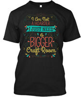 Easy-care Crafting- Scrapbooking - I Am Not A Hoarder Hanes Tagless Tee T-Shirt